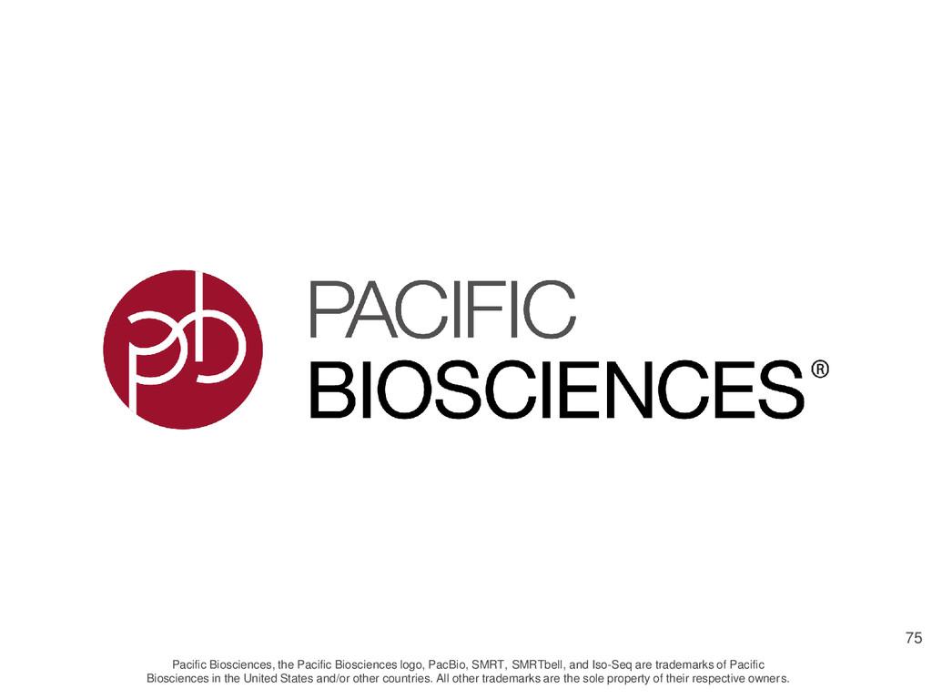 Pacific Biosciences, the Pacific Biosciences lo...