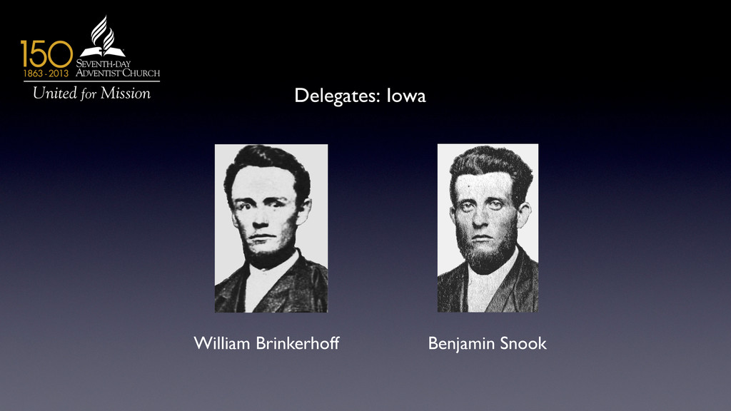 Delegates: Iowa	 