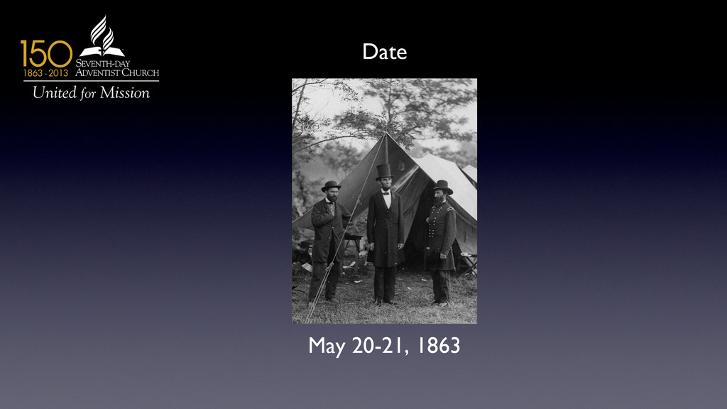 May 20-21, 1863  Date