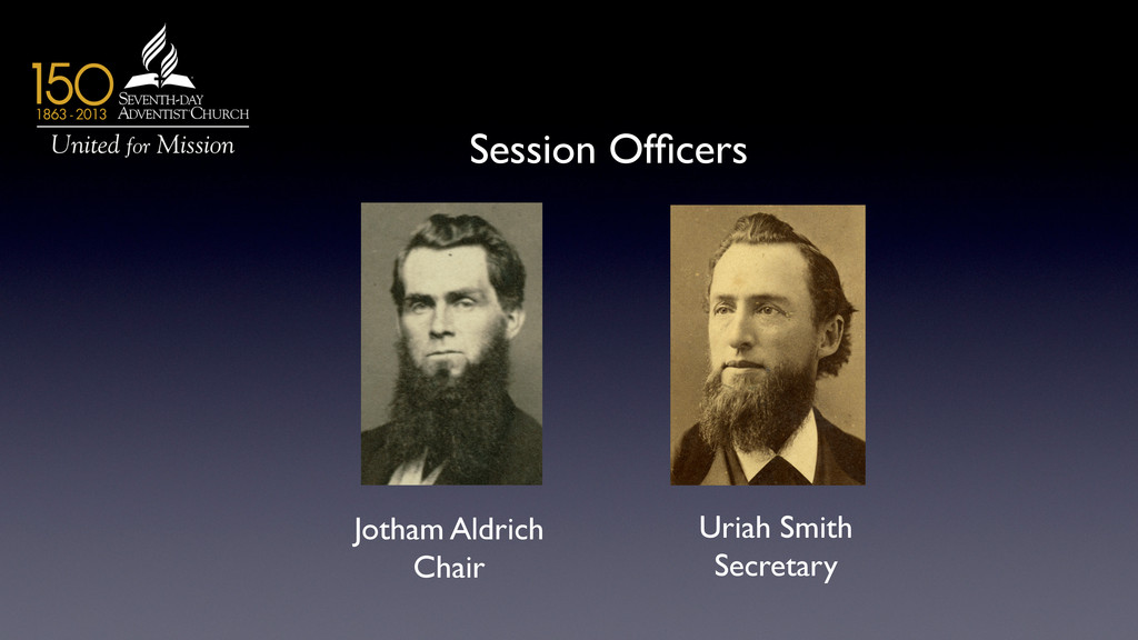 Session Officers 	 