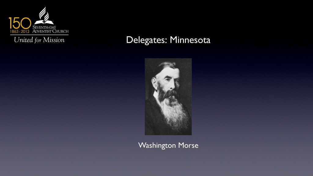 Delegates: Minnesota 	 