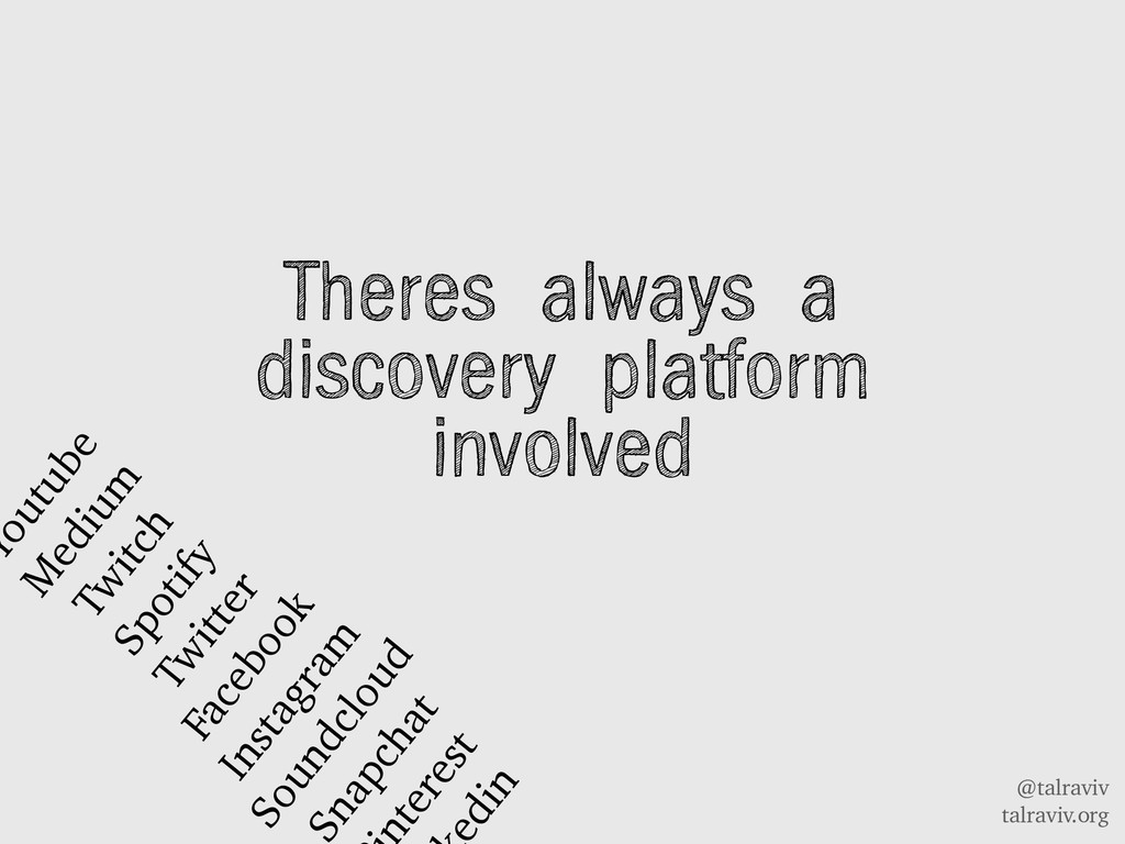 @talraviv talraviv.org Theres always a discover...