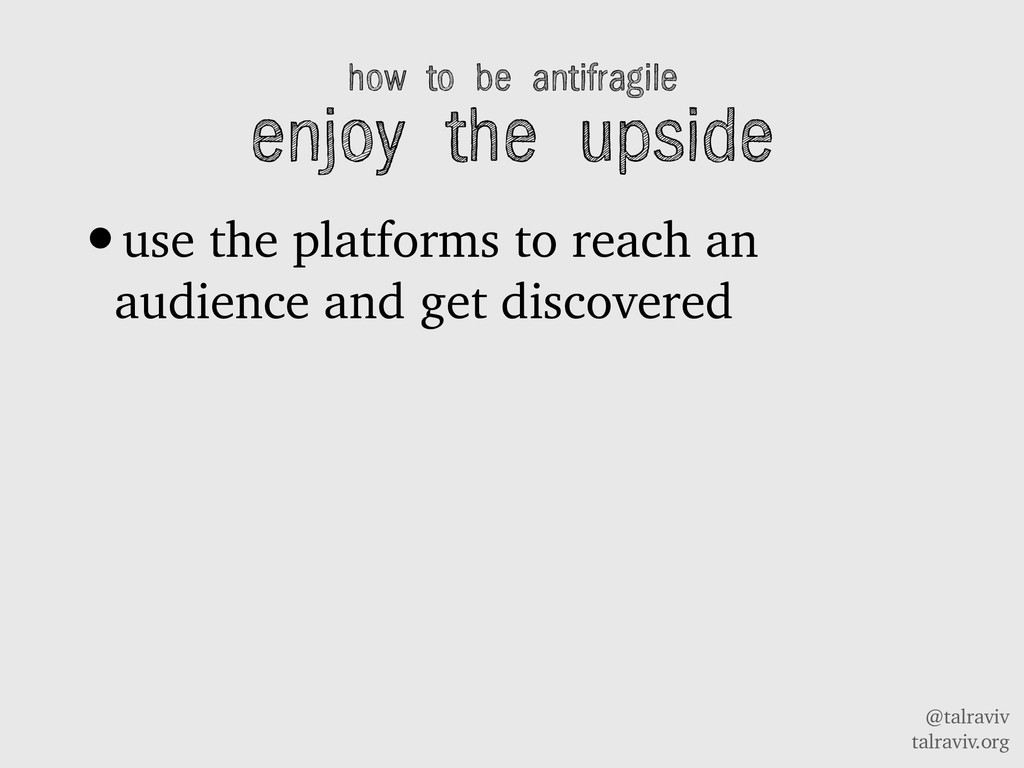 @talraviv talraviv.org how to be antifragile en...