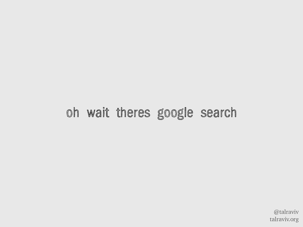 @talraviv talraviv.org oh wait theres google se...