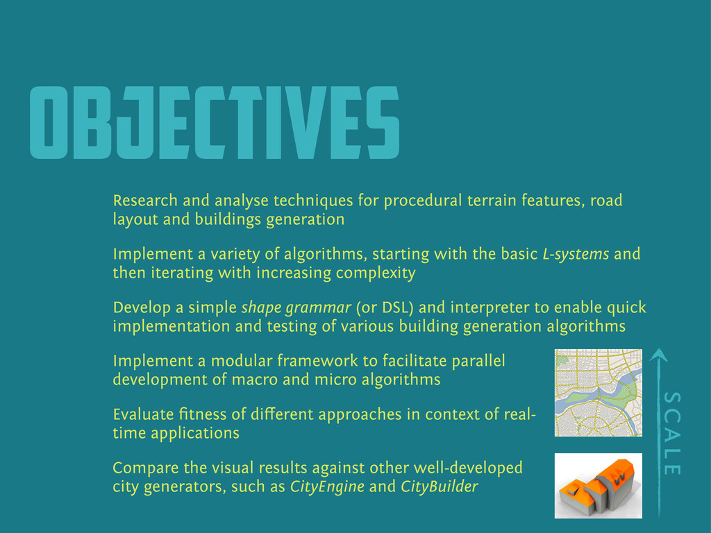 objectives Research and analyse techniques for ...