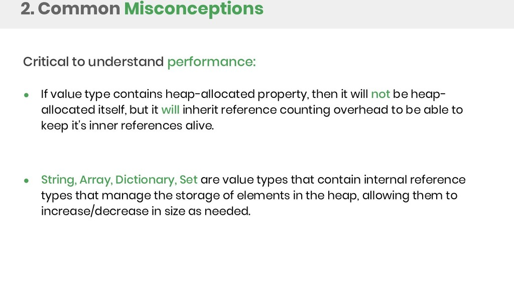 2. Common Misconceptions Critical to understand...