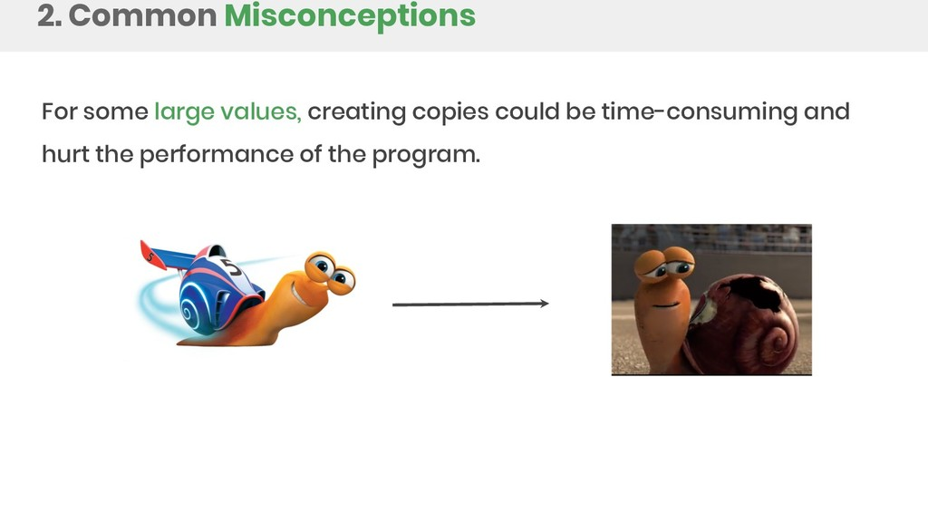 2. Common Misconceptions For some large values,...