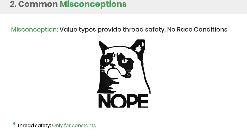 2. Common Misconceptions Misconception: Value t...