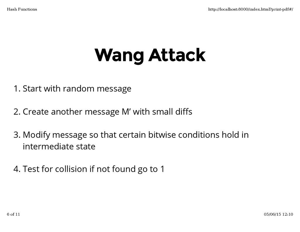 Wang Attack Wang Attack Start with random messa...