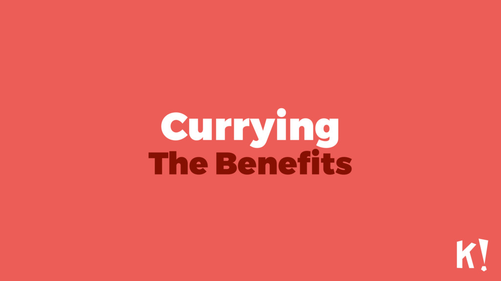Currying The Benefits