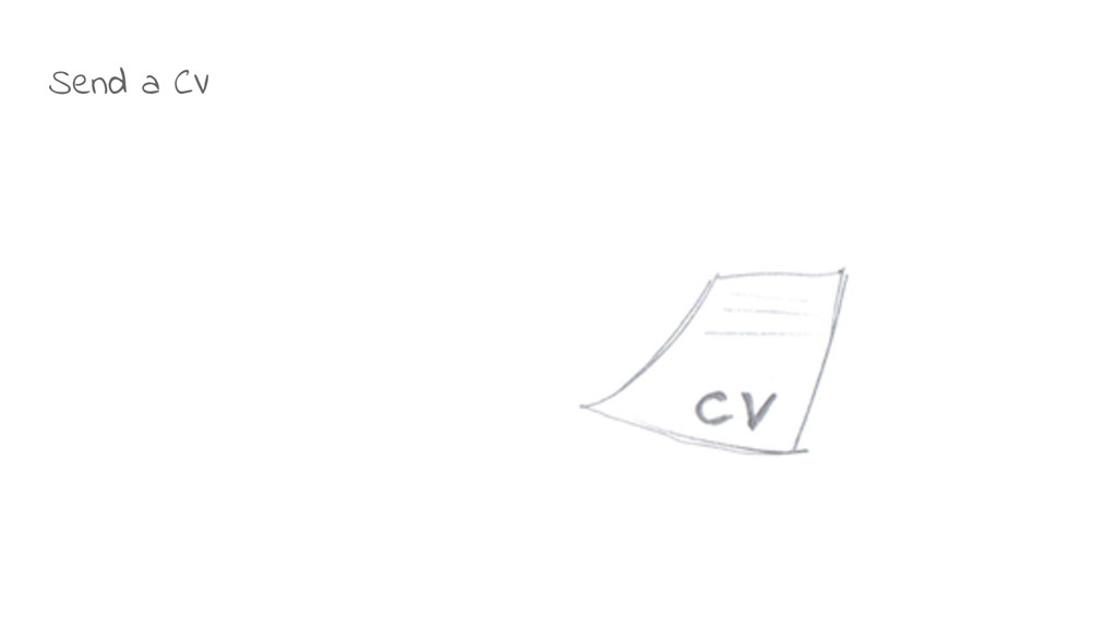 Send a CV