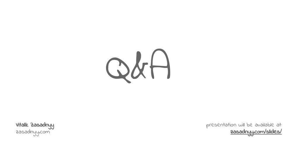 Q&A presentation will be available at: zasadnyy...