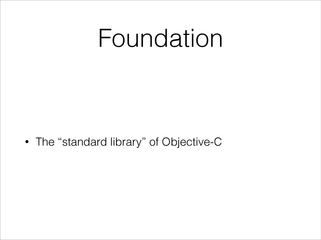 """Foundation • The """"standard library"""" of Objectiv..."""