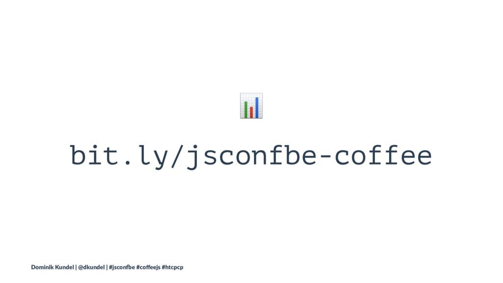 ! bit.ly/jsconfbe-coffee Dominik Kundel | @dkun...