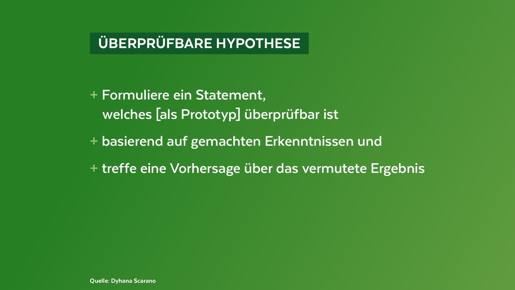 ÜBERPRÜFBARE HYPOTHESE + Formuliere ein Stat...