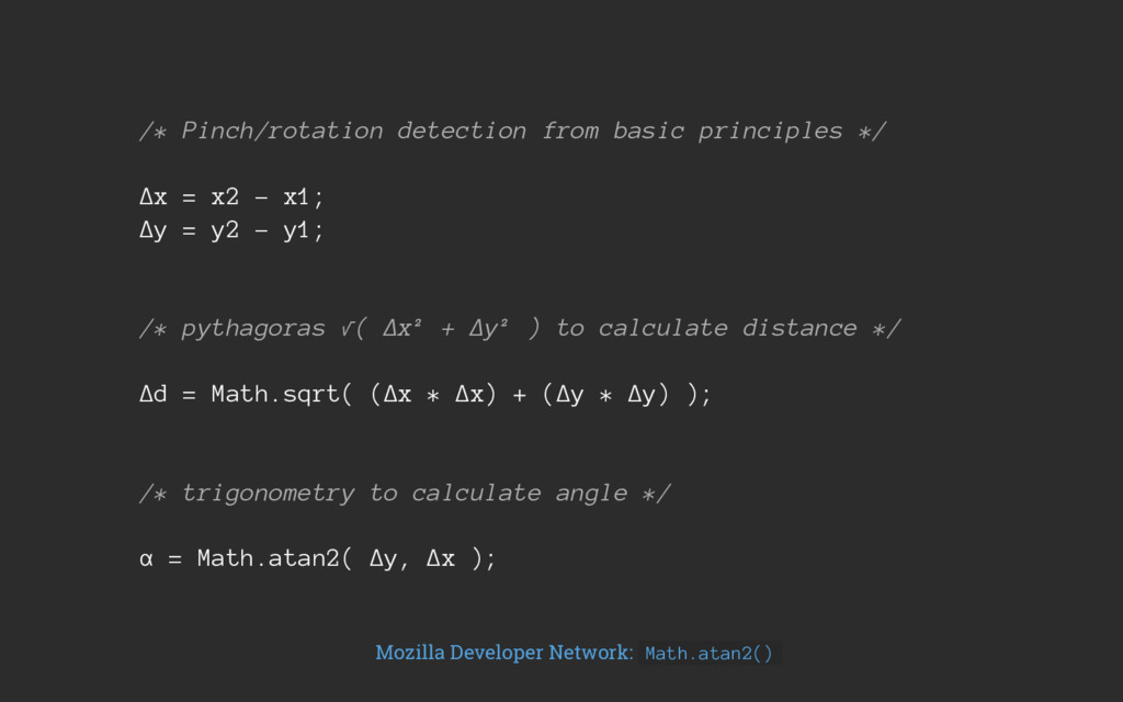 /* Pinch/rotation detection from basic principl...