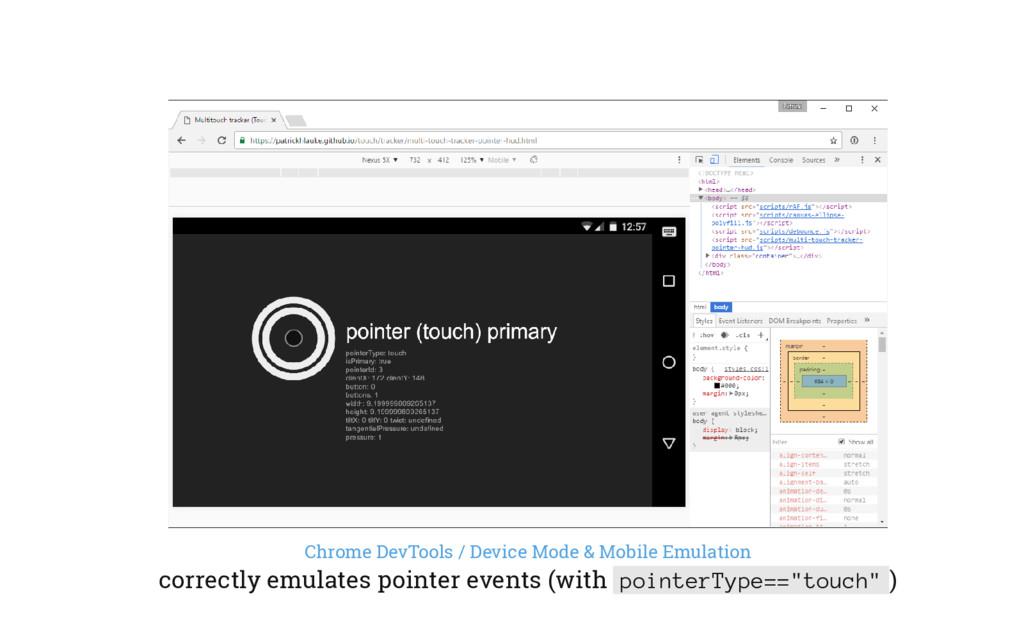 Chrome DevTools / Device Mode & Mobile Emulatio...