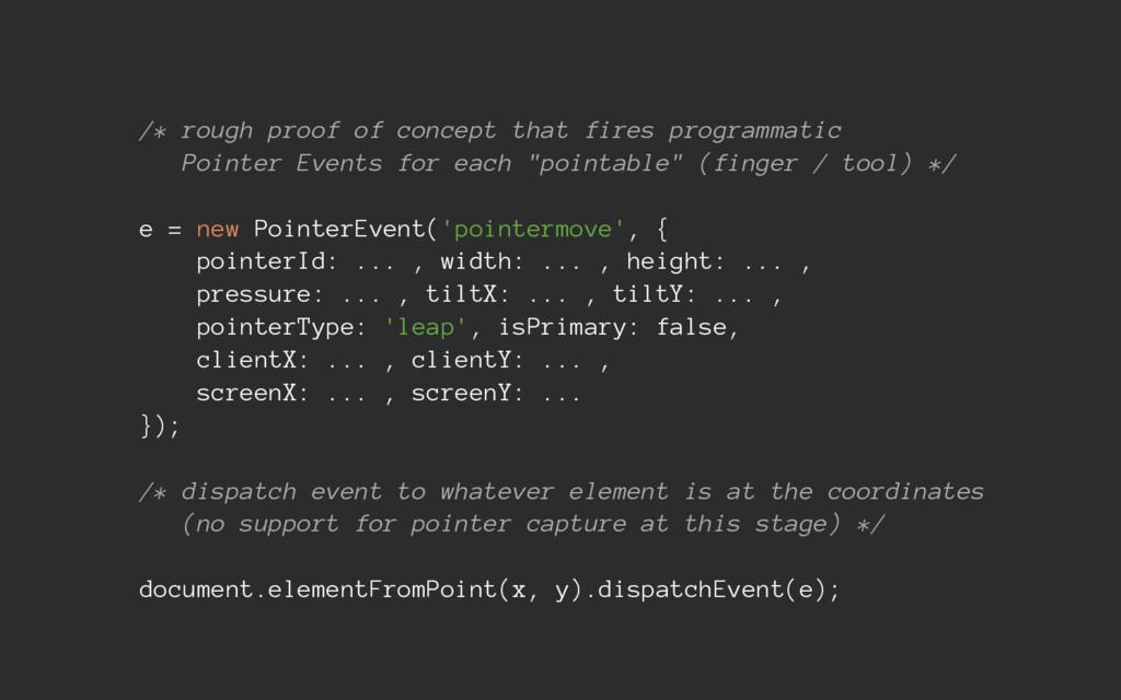 /* rough proof of concept that fires programmat...