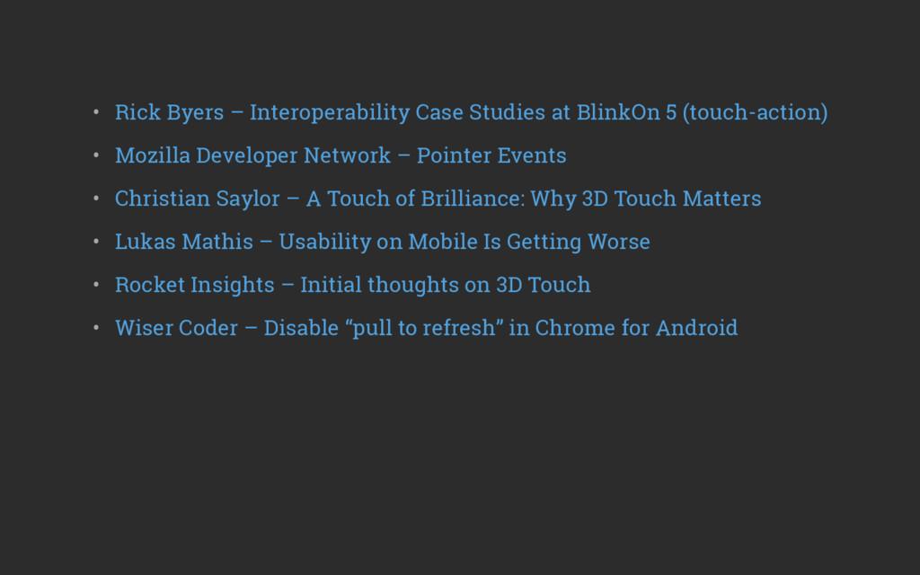 • Rick Byers – Interoperability Case Studies a...