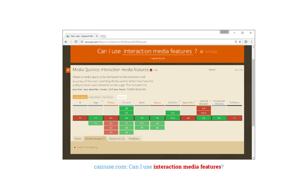 caniuse.com: Can I use interaction media featur...