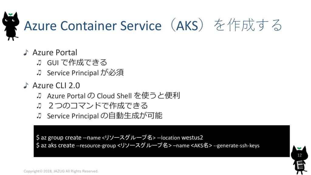 Azure Container ServiceAKS Azure Portal ...