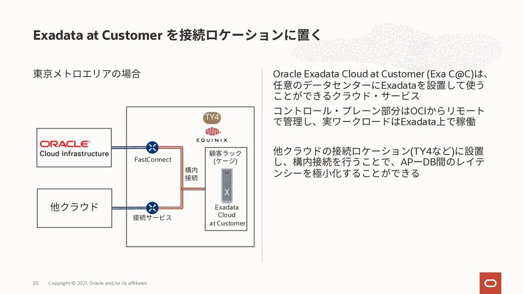 Oracle Exadata Cloud at Customer (Exa C@C) Exad...