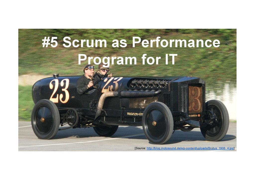 @devpg #5 Scrum as Performance Program for IT [...