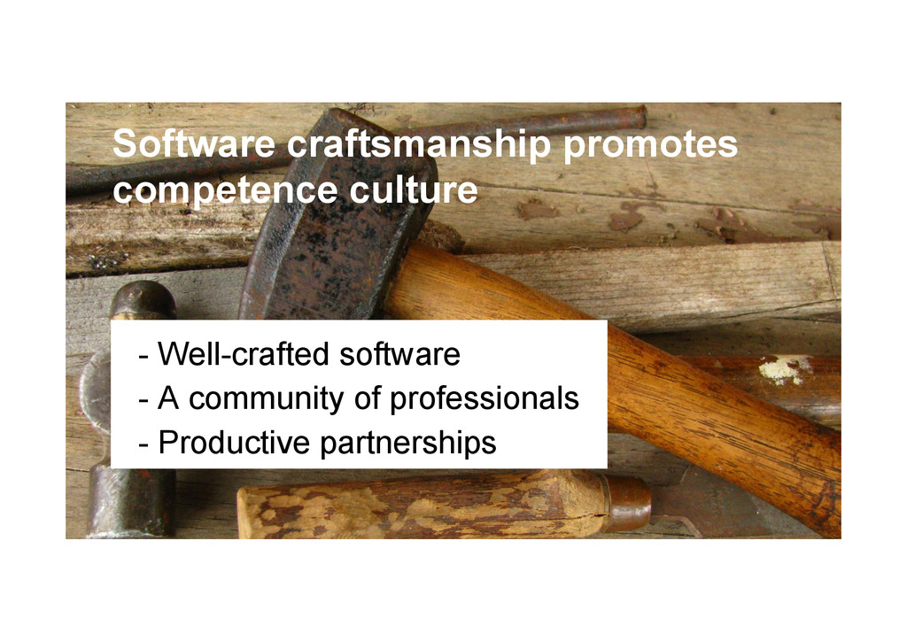 @devpg Software craftsmanship promotes competen...