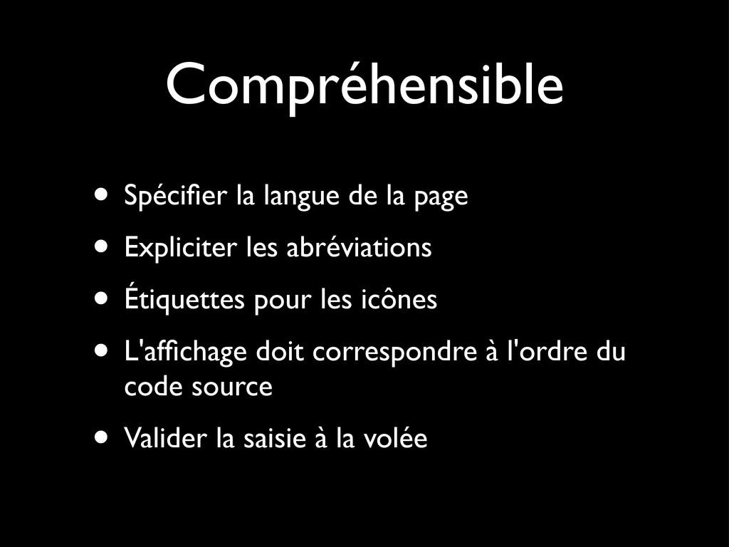 Perceptible • Alternatives (images, vidéos, aud...