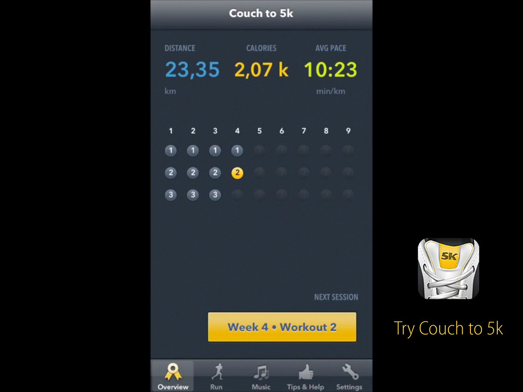 Try Couch to 5k