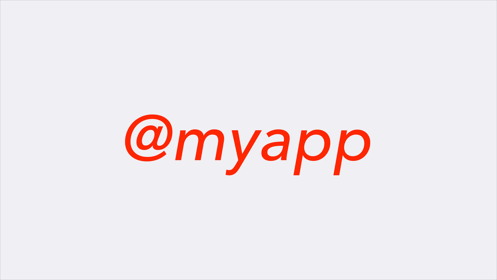 @myapp