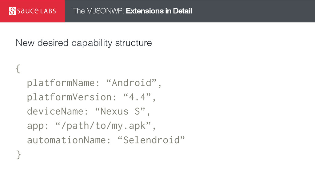 The MJSONWP: Extensions in Detail New desired c...