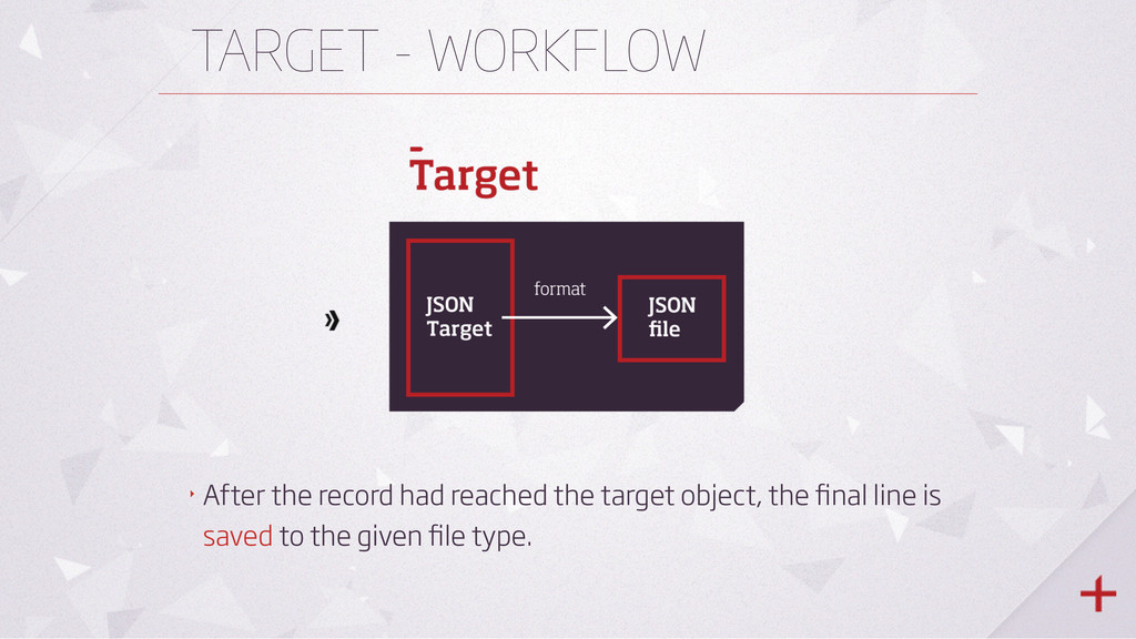 TARGET - WORKFLOW ‣ After the record had reache...