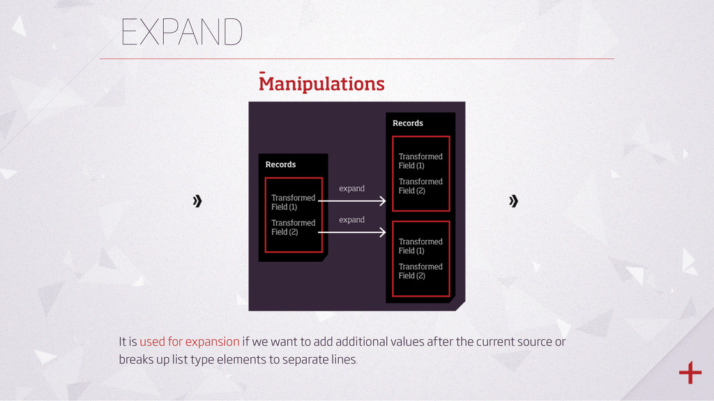 EXPAND It is used for expansion if we want to a...