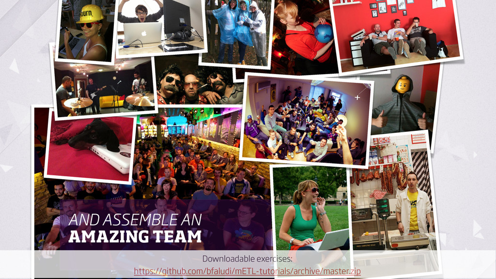 AND ASSEMBLE AN AMAZING TEAM Downloadable exerc...