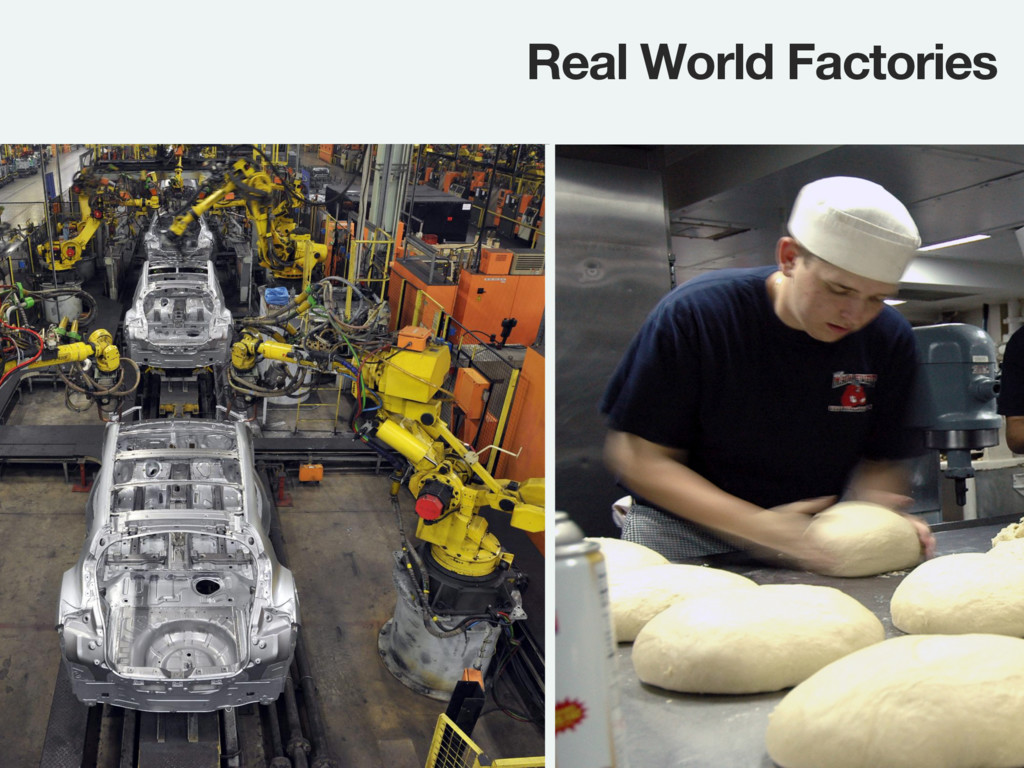 Real World Factories