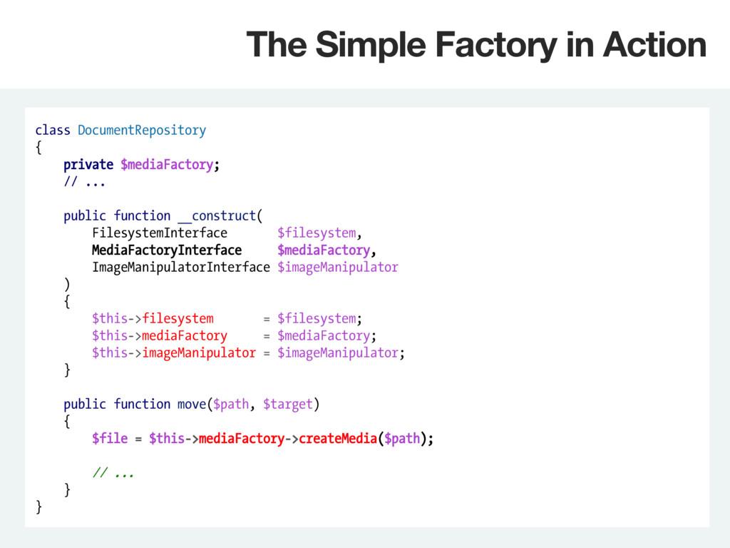 class DocumentRepository { private $mediaFactor...