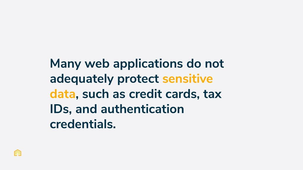 Many web applications do not adequately protect...