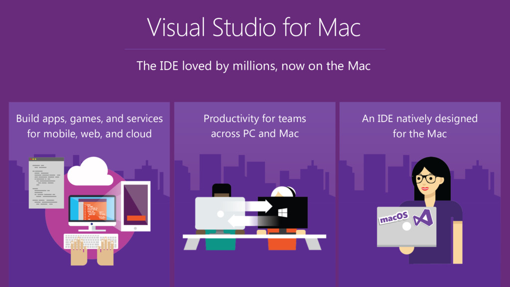 Visual Studio for Mac The IDE loved by millions...