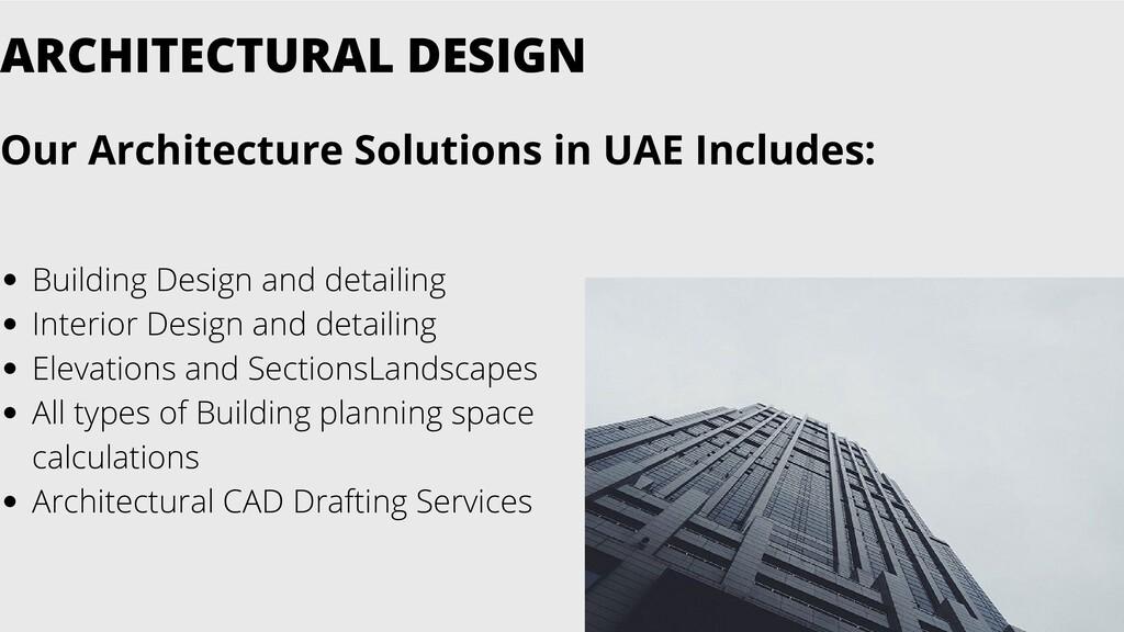 Building Design and detailing Interior Design a...