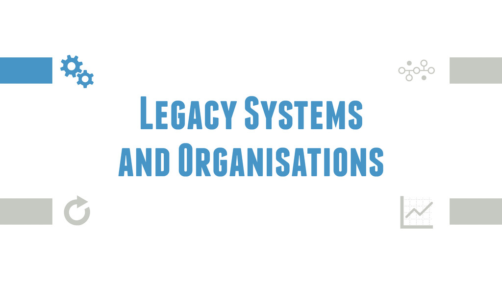Legacy Systems and Organisations z ģ G Y