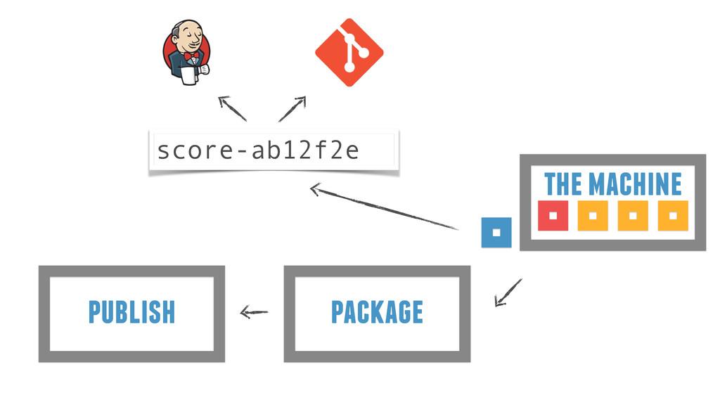package publish the machine score-ab12f2e
