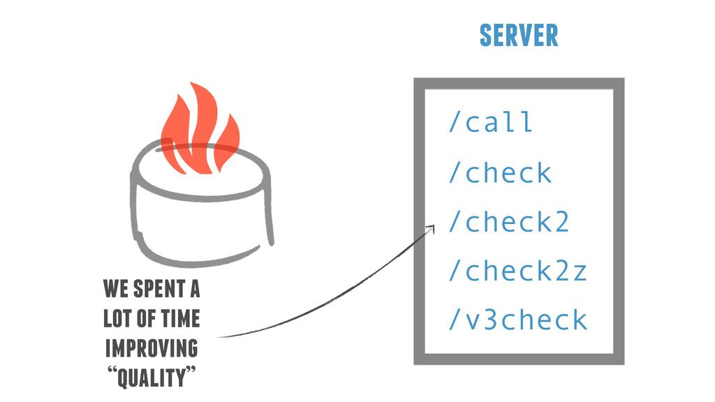 /call server /check /check2 /check2z /v3check w...