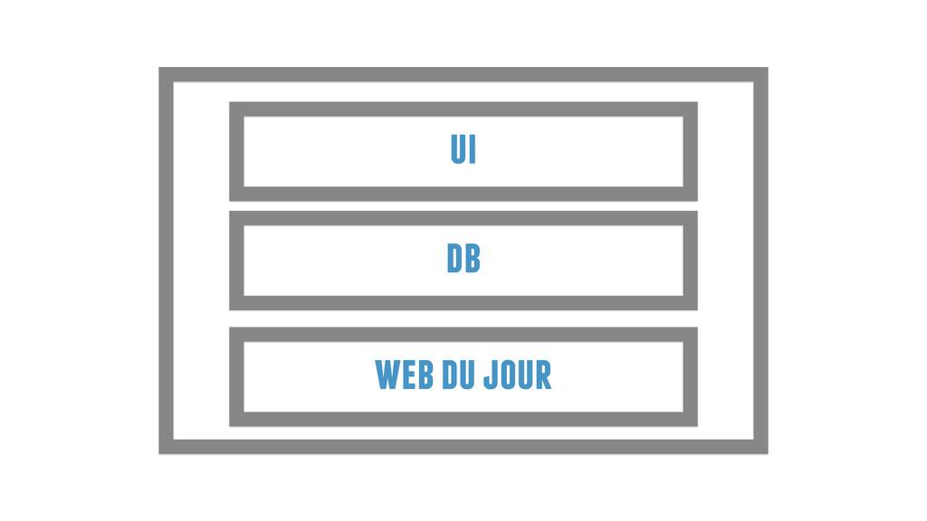 web du jour db ui