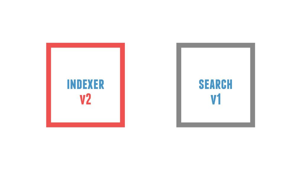indexer search v2 v1