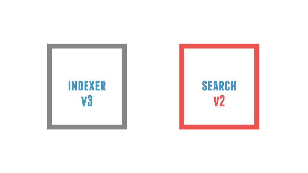 indexer search v3 v2