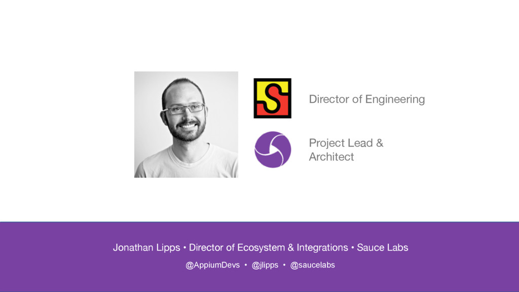 Jonathan Lipps • Director of Ecosystem & Integr...