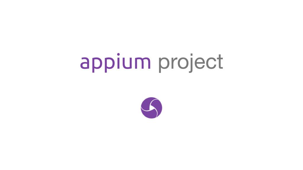 appium project