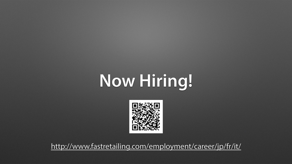 Now Hiring! http://www.fastretailing.com/employ...