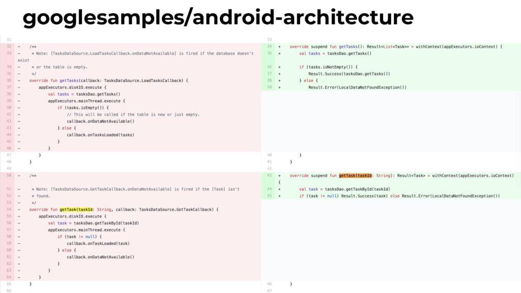 googlesamples/android-architecture